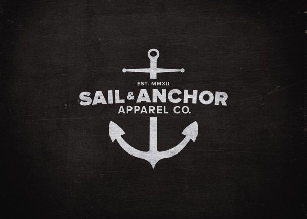 Inspirational Showcase of Nautical Style Logo Designs