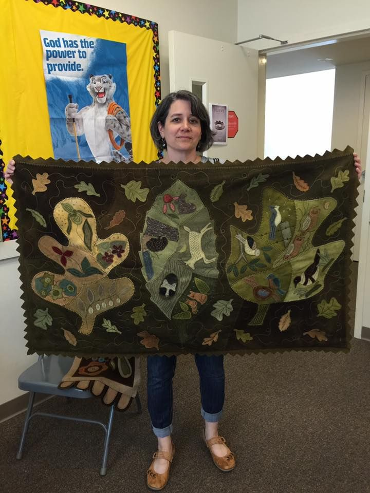 Donna Enoch: Great workshop with Rebekah L. Smith hosted by The Woolwrights in Leola, PA