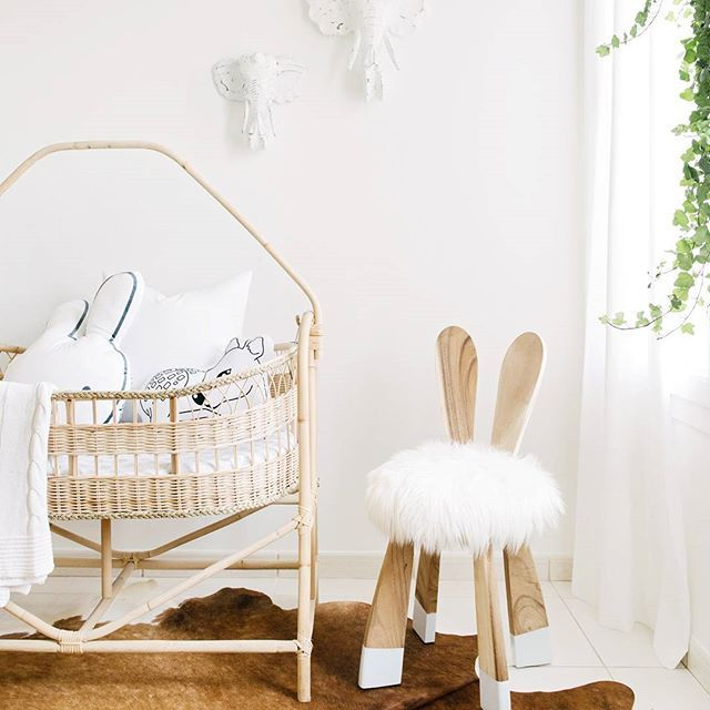 A little flashback to this adorable nursery styled for @whitemossdecor - that Alice of Wonder bunny chair never disappoints... #styling #nursery #whitemoss #houseofhawkes | image by @nateleecocks