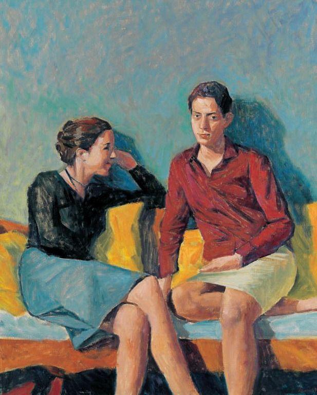 .:. Σάμιος Παύλος – Pavlos Samios [1948] Δύο φίλες, 1999