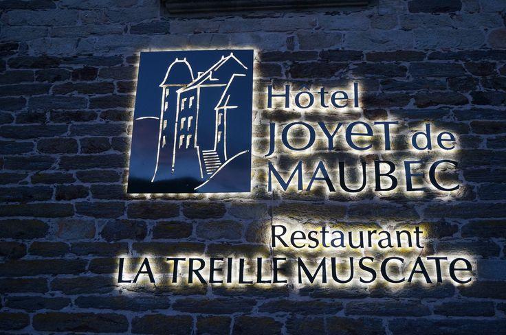 Hôtel Joyet de Maubec****, Restaurant la Treille Muscate, Uzerche    www.uzerche-tourisme.com         http://hotel-joyet-maubec.com/