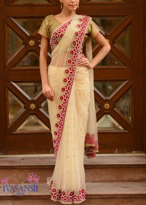 FILL YOUR WARDROBE WITH INDIAN DESIGNER SAREES BY VASANSI #styled247