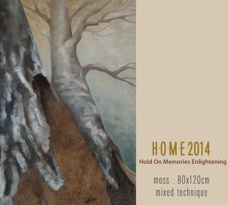 H.O.M.E. oil paintings - available