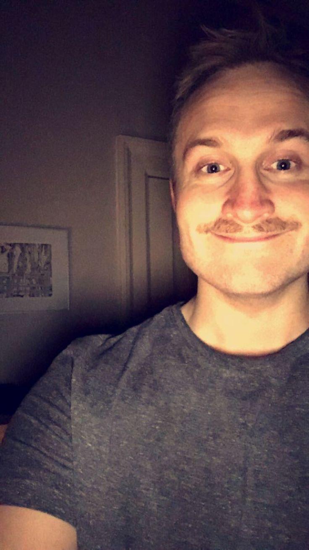 November 2016. Like father, like son. Movember mod kræft.