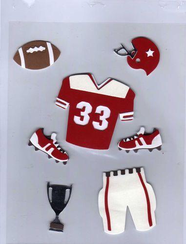 #Football #Scrapbooking #Stickers #3D #Smashbooking #Sports #Jersey #Helmet #Trophy on @eBay! http://r.ebay.com/wQvzmy