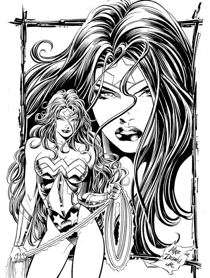 Wonder Woman by Mike Deodato Jr #wonderwoman #mikedeodatojr