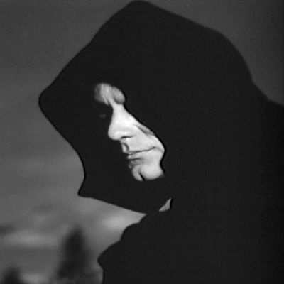 Harbinger451's profile picture of choice - it's Death from the 1957 movie The Seventh Seal.