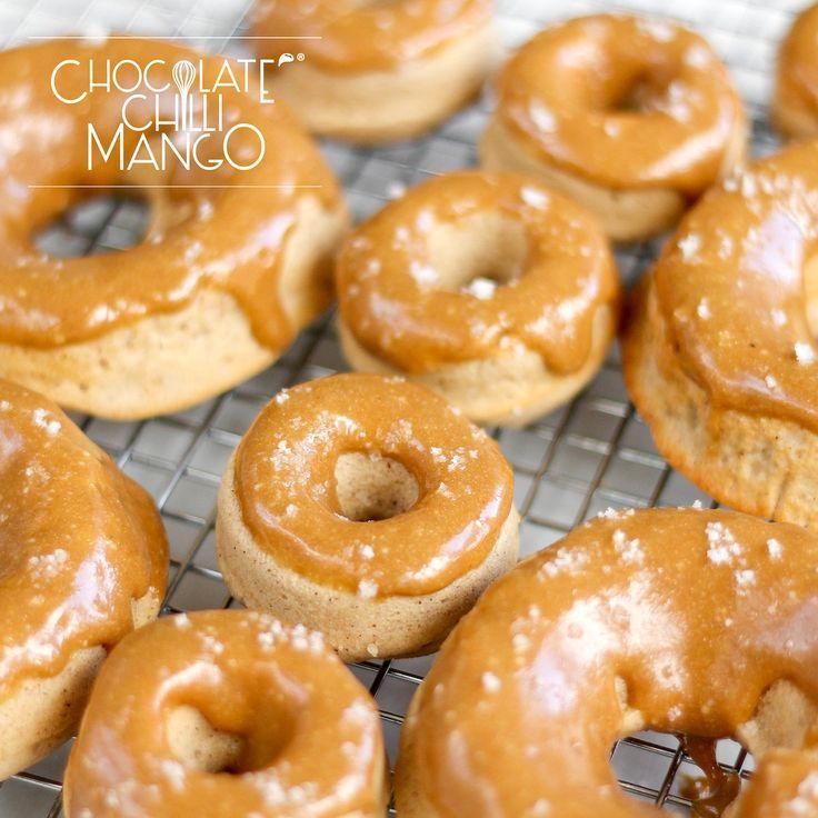 Coffee Cinnamon Whey Protein Donut Recipe