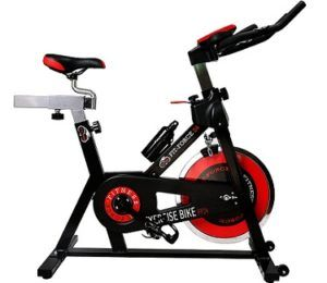 Bici estática Fit-Force con volante de inercia de 24 kg al mejor precio en oferta