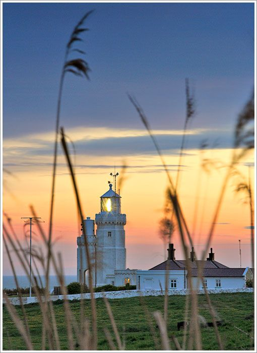 St. Catherine's Lighthouse, Isle of Wight, England, UK