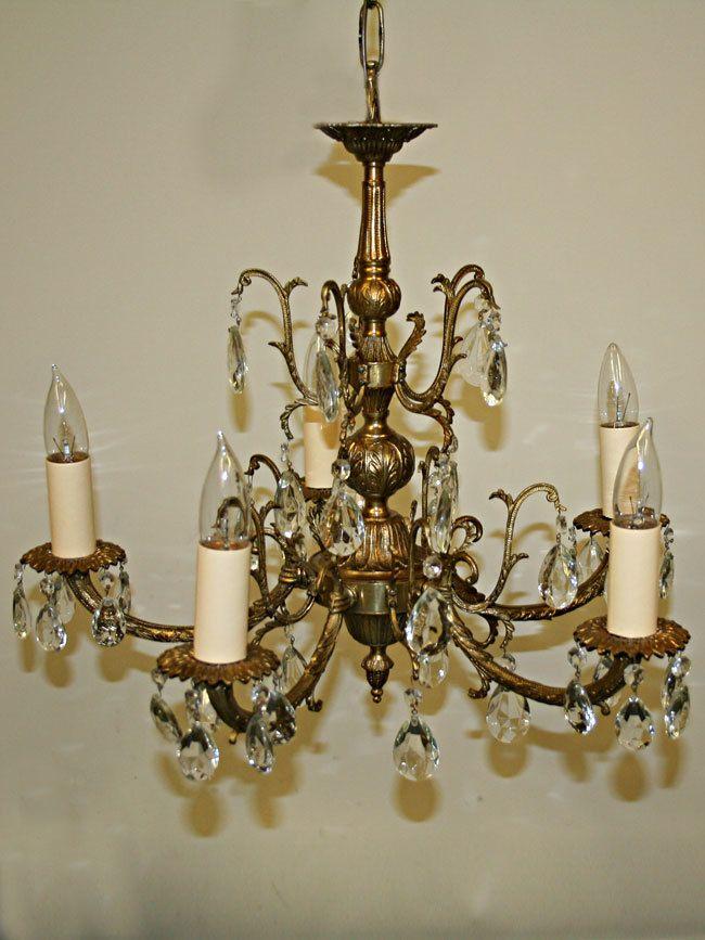 15 best 2017 restored chandeliers images on pinterest chandelier five light spanish cast brass chandelier c 1950 myrlg aloadofball Images