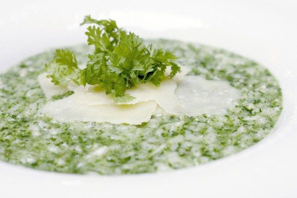 Herb risotto / Yrttirisotto, resepti – Ruoka.fi