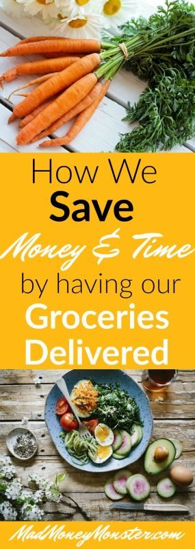 Grocery Delivery Service | Groceries Delivered | Online Groceries | Save Money On Groceries via @MadMoneyMonster