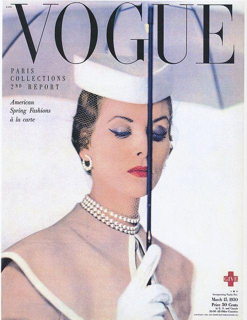 Vogue MAR.15 1950 BLUMENFELD