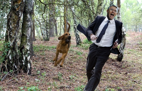 Adkins admits to 'worst possible start' while fleeing angry dog: Southampton manager Nigel Adkins has confessed he couldn't have had a worse start to the new Premier League campaign, while dodging the jaws of a savage hunting hound during a curtailed press conference this afternoon.
