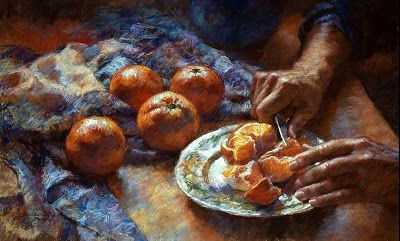 Cutting Oranges - by Gwenneth Barth-White (LGB'68)  www.gwennethbarth.com