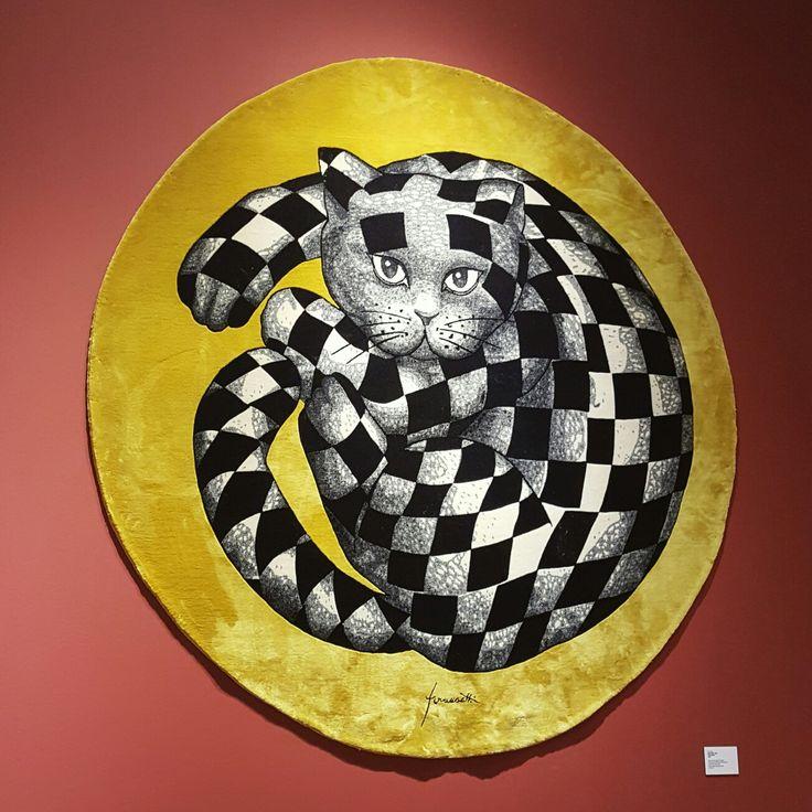 Italian artist 'Piero Fornasetti' exhibition  Rug