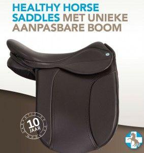 Met deze bon 25 EUR korting op een Healthy Horse Saddle met unieke aanpasbare boom.