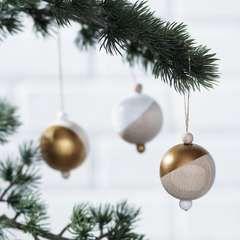 Trendiga träkulor till jul - Panduro Hobby