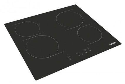 Tramontina: cocinas vitrocerámicas, específicamente el modelo Square Touch 4EV 60, con timer incorporado, fáciles de limpiar, con 9 niveles de potencia, con Indicador de calor residual que es un sistema de seguridad que informa si el área que fue utilizada permanece caliente, con Bloqueo y apagado automático de seguridad.