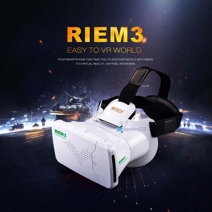 Virtual Reality VR Headset 3D IMAX Video Glasses For iPhone 4 5S 6 Samsung S6 TR #RITECH