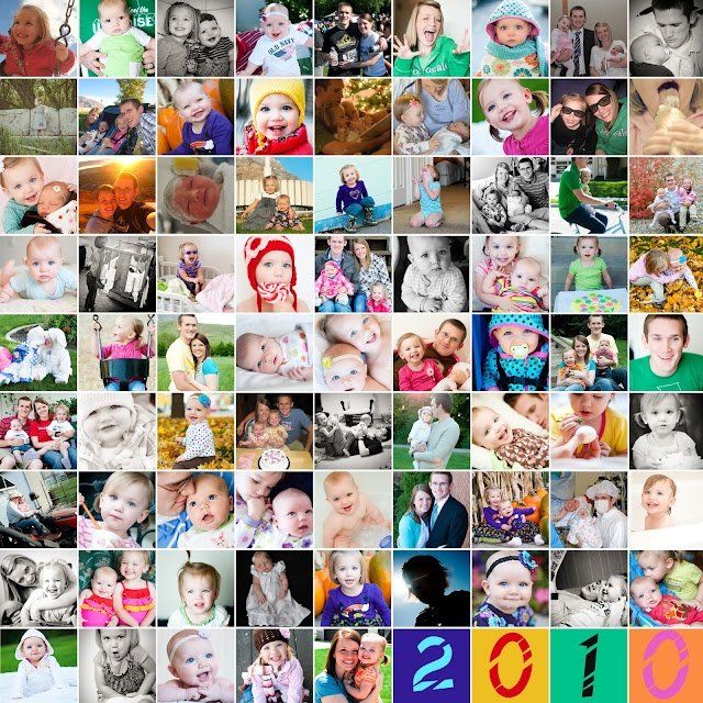A year in photos collage
