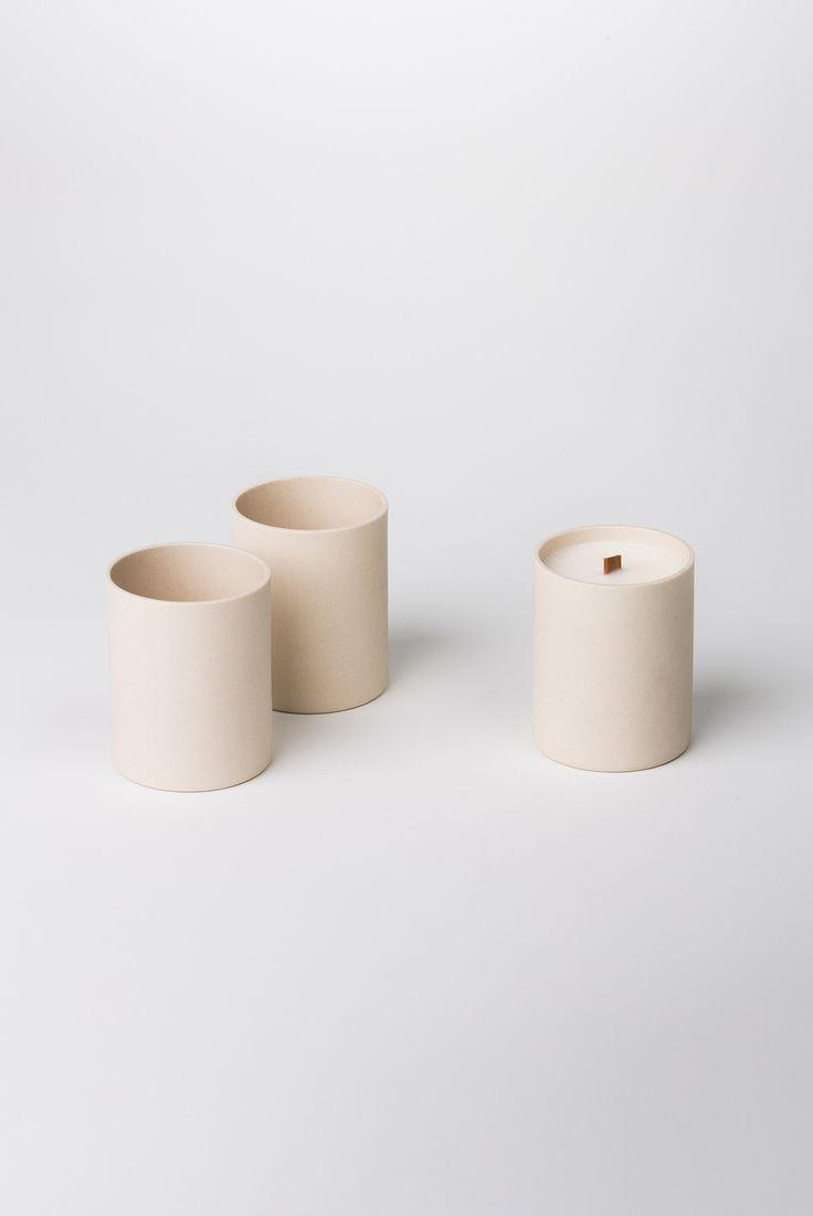 """Just For Looks"" Candle in Ceramic – BENJAMIN EDGAR, or whatever."