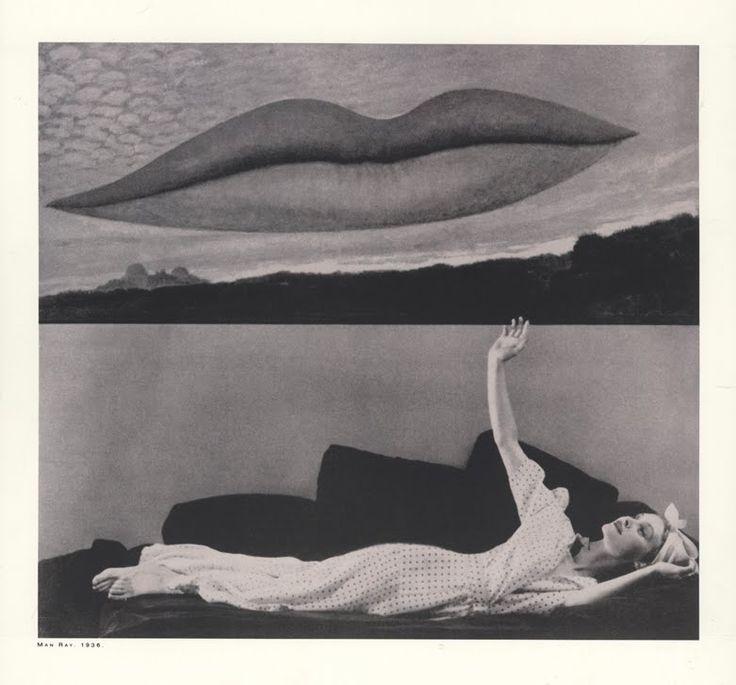 Man Ray Fashion photograph, 1936. Image via Pinterest.