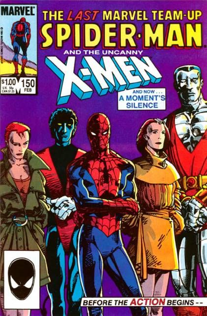 Marvel Team-Up #150 - 'Tis Better To Give! for more X-stuff, check out: adamantiumclaws.com #spiderman #barrywindsorsmith #xmenandspidermen #wolverine #marvelteamup