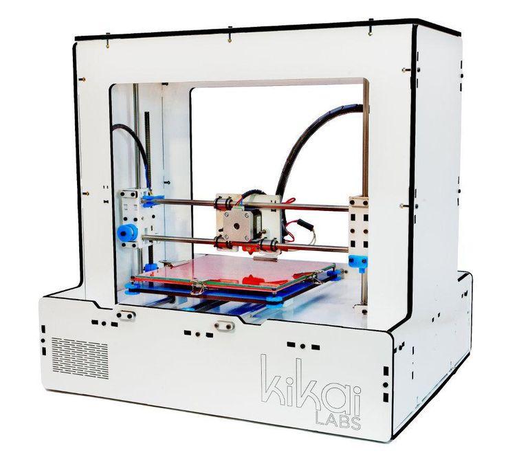 Impresora 3D Modelo T105 - Color - Blanco - Tienda Kikai Labs Argentina