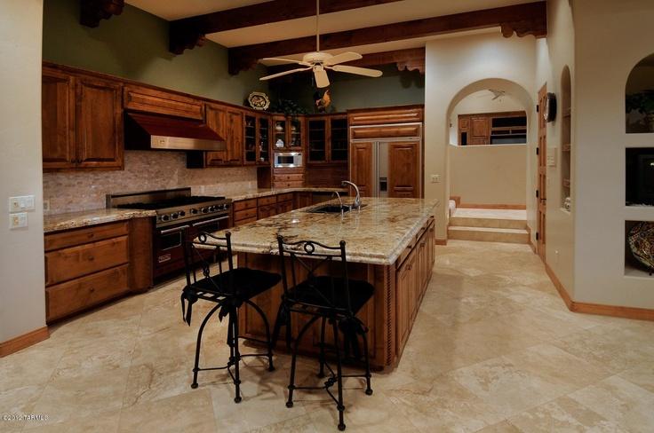 Kitchen Luxury Homes Home Tucson Arizona