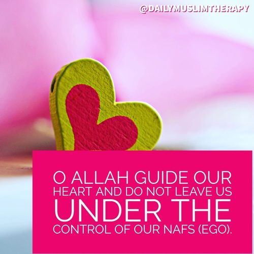 Oh Allah, Without You, I'm a mess controlled by nafs!
