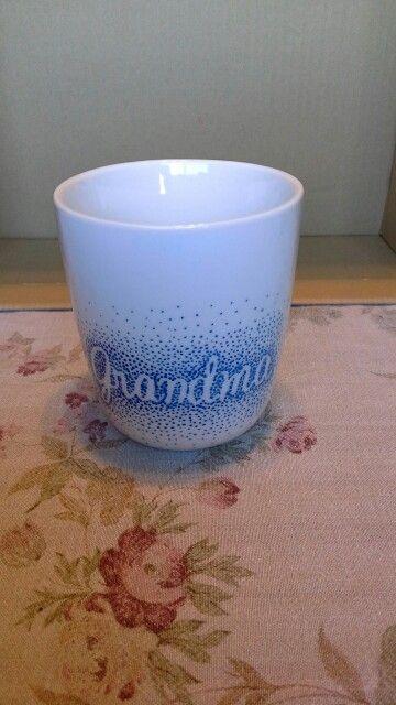 Sharpie mug for Grandma