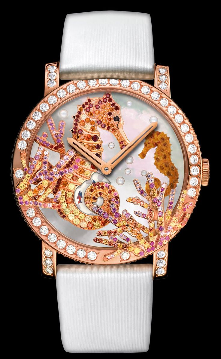 Jewelry News Network: Boucheron's Wild and Crazy Ladies Watches