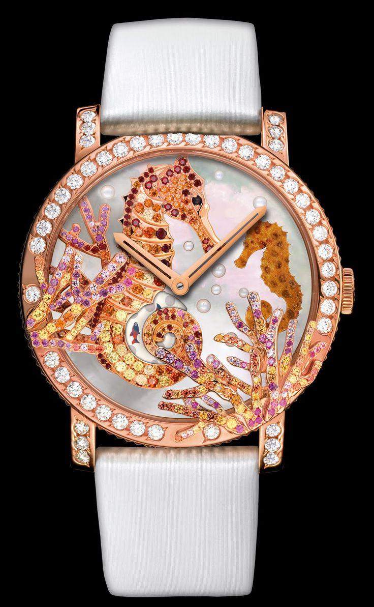 Jewelry News Network: Boucheron's Wild and Crazy Ladies Watches