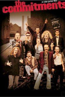 """The Commitments (1991) Alan Parker  - based upon the novel by Roddy Doyle -The travails of Jimmy Rabbitte to form the """"World's Hardest Working Band,"""" The Commitments, and bring soul music to the people of Dublin, Ireland. (IMDb)"""