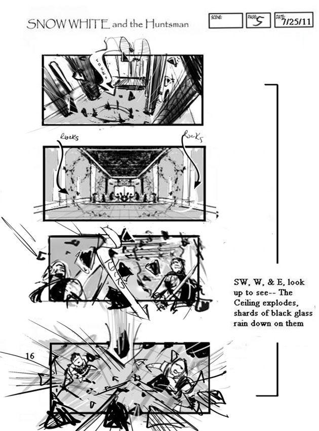 Best Movie Storyboards Images On   Storyboard Artist