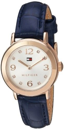 Tommy Hilfiger Leather Automatic Ladies Watch 1781713