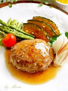 絶品*豆腐ハンバーグ by maria358 [クックパッド] 簡単おいしい ...