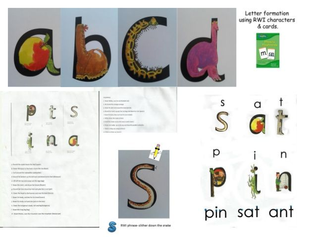 Alphabet writing with Read, Write Inc, recommended by the Reading Whi…