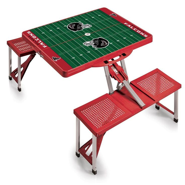 Atlanta Falcons Portable Folding Tailgate Picnic Table