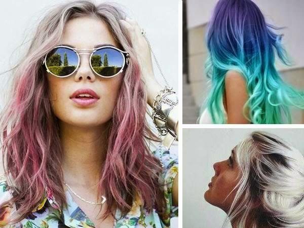 Cabello de colores, el paso a paso en... http://www.1001consejos.com/cabello-arcoiris/
