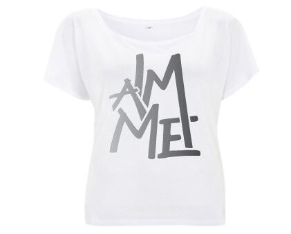 I am Me - Duurzaam Tencel T-shirt Wit