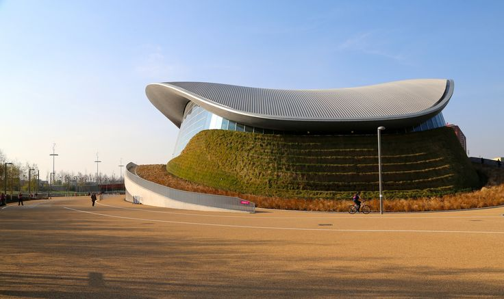 https://flic.kr/p/naHegU | London Aquatics Centre | The London Aquatics Centre is an indoor facility with two 50-metre (160-foot) swimming pools and a 25-metre (82-foot) diving pool in Olympic Park at Stratford, London, it was one of the main venues of the 2012 Summer Olympics and the 2012 Summer Paralympics. The centre was used for the swimming, diving and synchronised swimming events. After significant modification the centre is due to open to the public in 2014.   t was designed by…