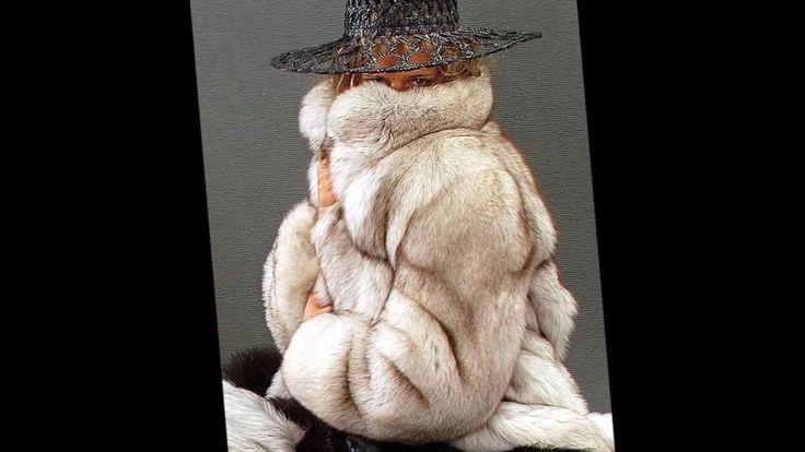 Woman In White Fox Fur Part 30