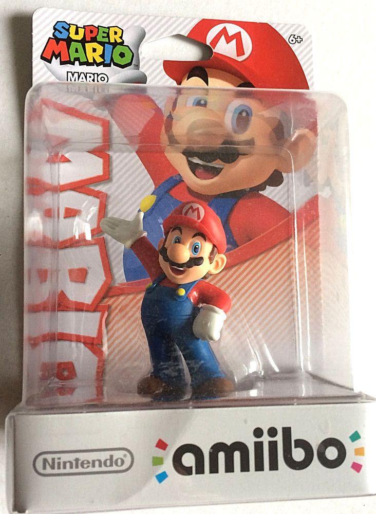 Amiibo Super Mario Nintendo 3DS  3DS XL Wii U US Version New in Package #Nintendo