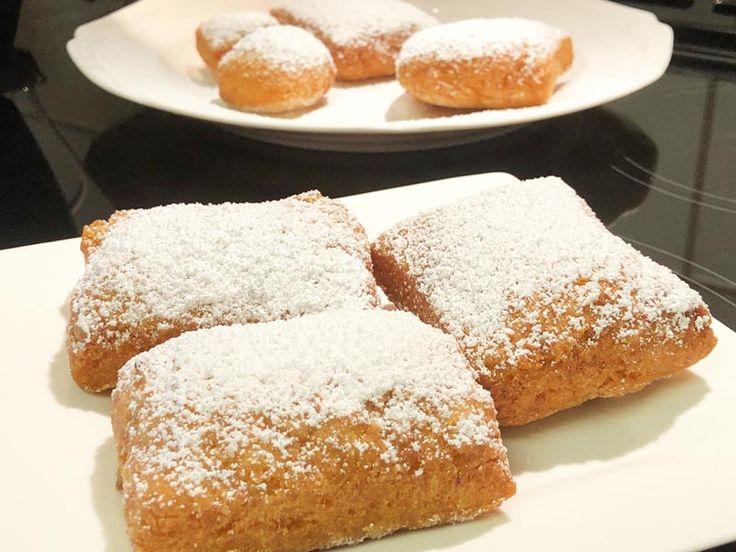 Homemade Gluten Free Beignets Recipe & Video: https://glutenfreerecipebox.com/gluten-free-beignets-recipe-video/ View the video at https://youtu.be/JuTDvxKbcjc #glutenfree