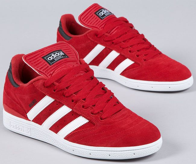 reputable site c59f2 6dff7 Adidas Skateboarding Busenitz - Red  White  My Style  Adidas busenitz,  Adidas sneakers, Addidas shoes mens