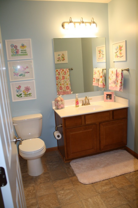 Bathroom Framed Wall Decor: Framed Wall Art (kids Reminders) Over The Toilet.. And On