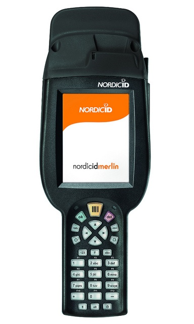 Nordic ID Merlin UHF RFID or Nordic ID Merlin HF RFID mobile computer